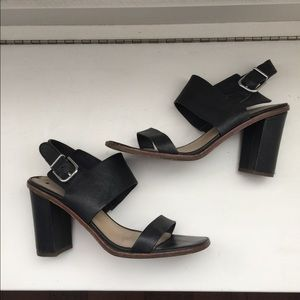 Via Spiga strappy block heels